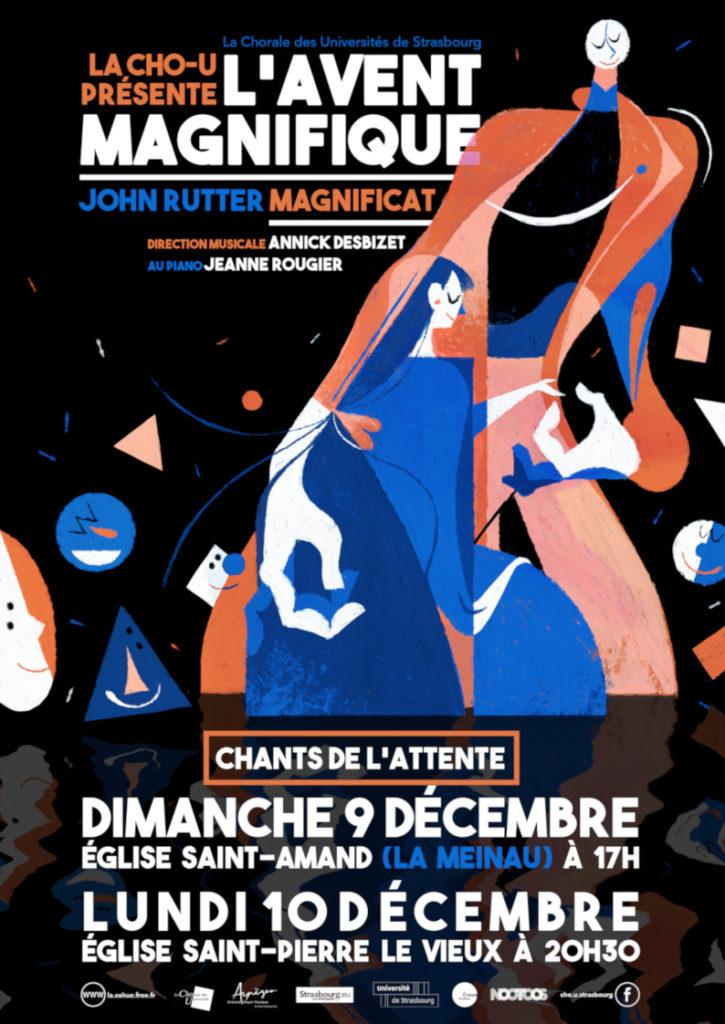 """Affiche du concert """"L'avent Magnifique"""""""